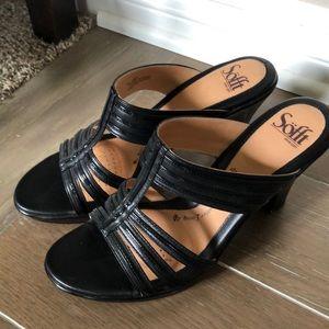 Söfft Brand Black Strappy Heel
